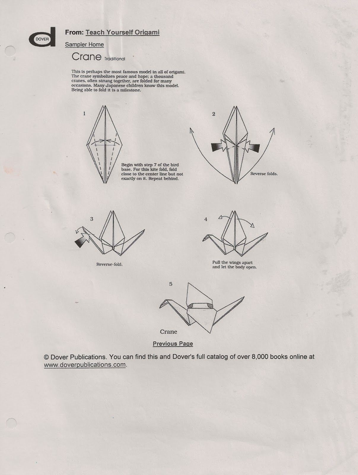 Free Origami Handout And Sub Lesson With Images