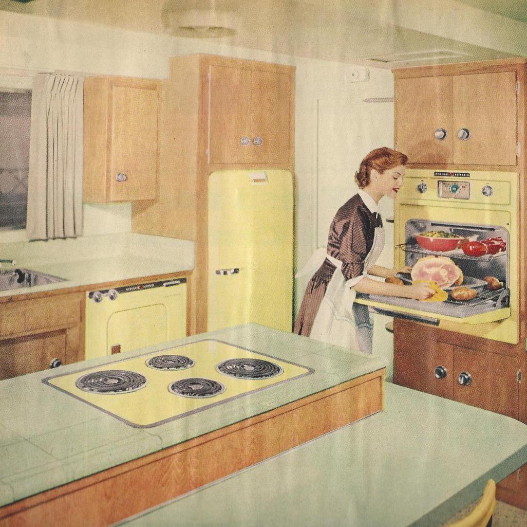 1950s Vintage Kitchens, Mid Century
