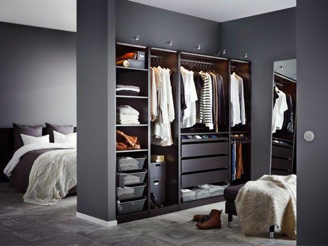Dressing  quelles configurations possibles ? Dressing room, Room - Armoire Ikea Porte Coulissante