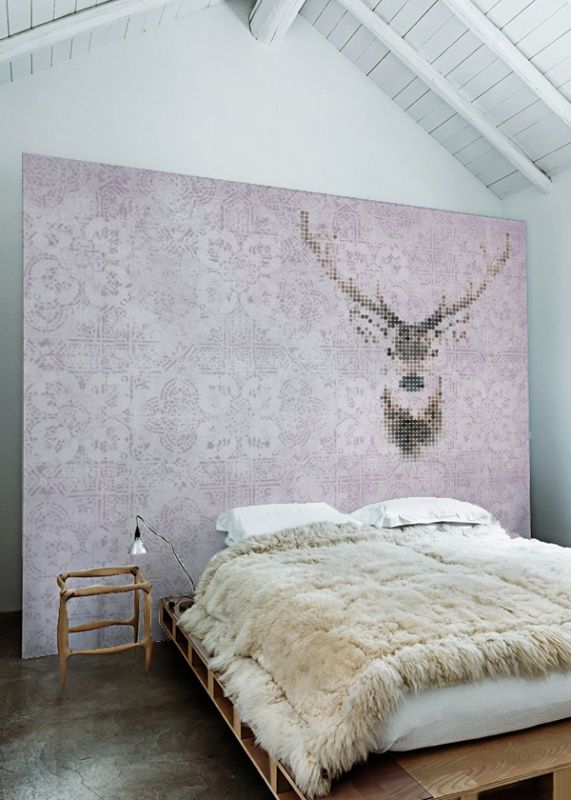 Sterk-design behang HERT | Sterk-Design | Designwebwinkel | Muren ...