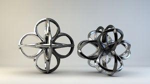 3d printed metal on shapeways by nic022