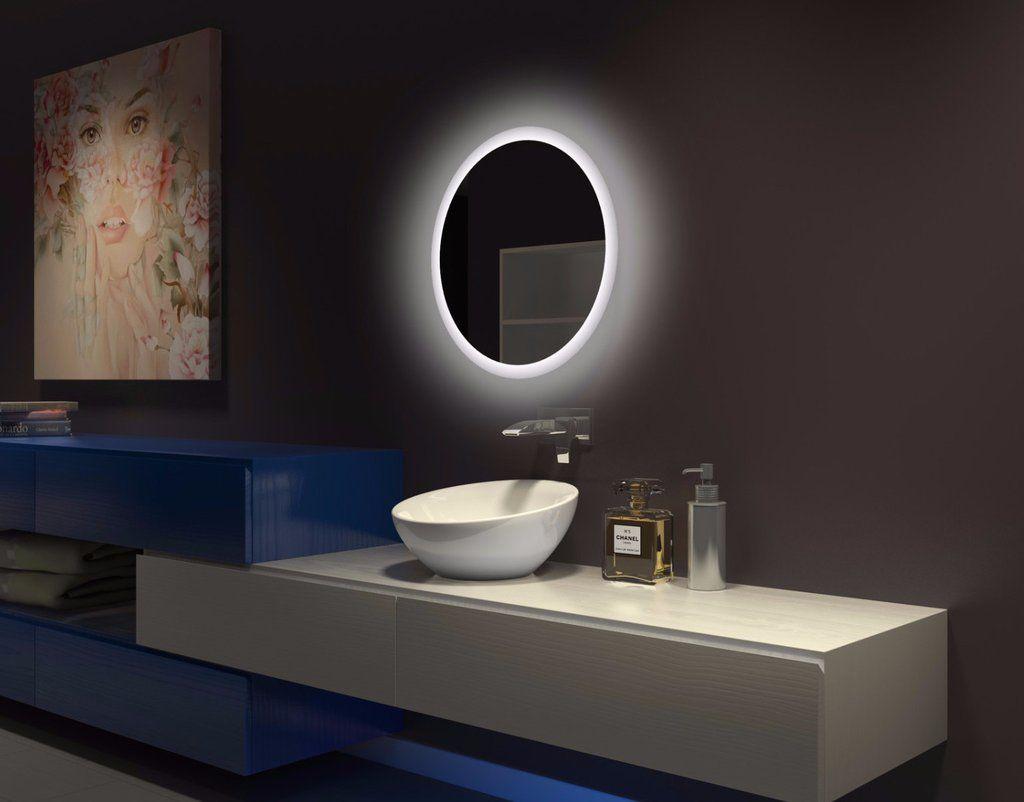 55 Led Bathroom Mirrors Ideas, Modern Bathroom Lights Above Mirror