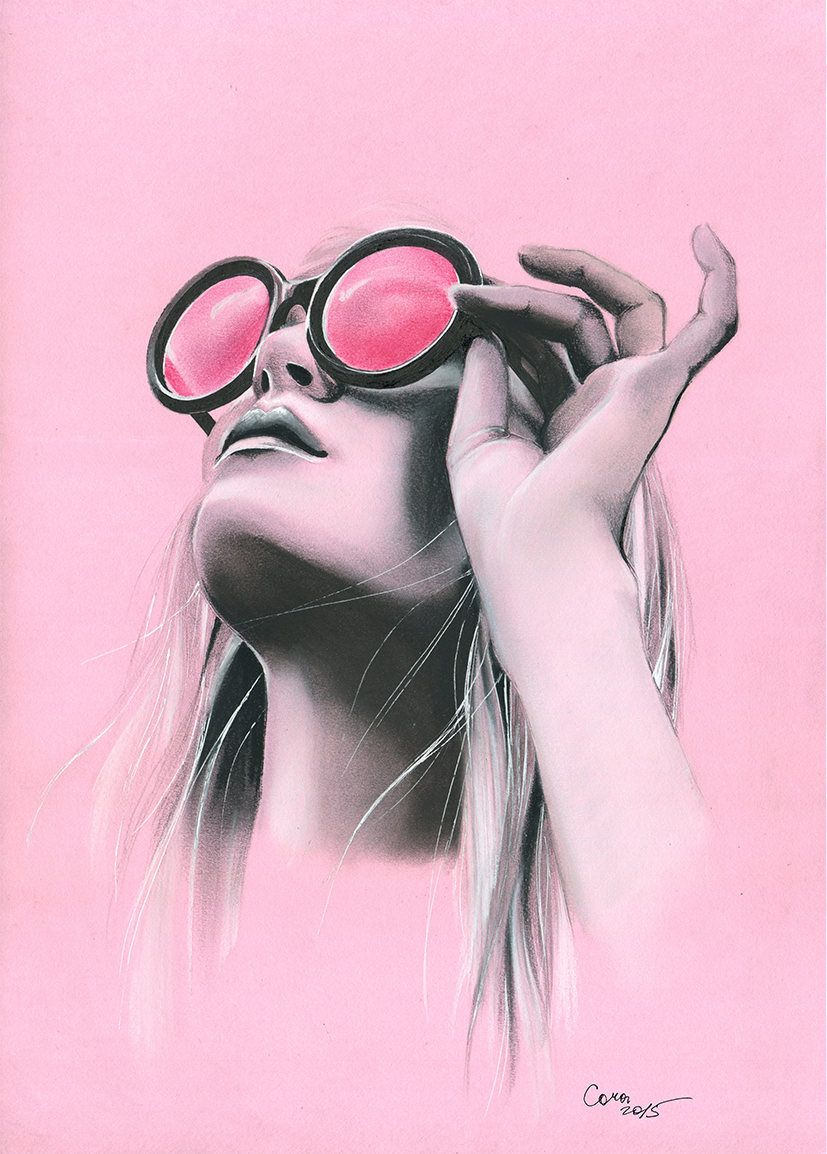 b035a675d8c26 Through the pink glasses by Cora-Tiana.deviantart.com on  DeviantArt ...