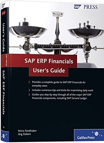 Sap Erp Financials User S Guide Your Sap Fi Reference Free Download By Array User Guide Financial Sap