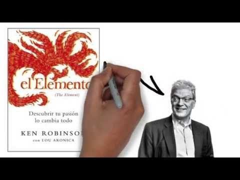 El Elemento Ken Robinson Resumen Animado Youtube Liderazgo Positivo Ken Robinson Psicología Positiva