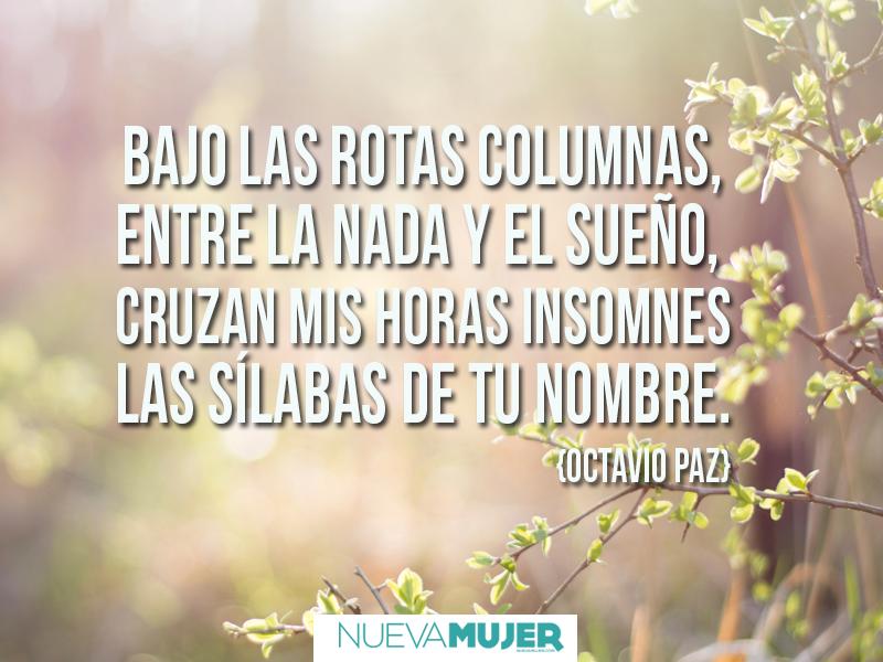 Frases Y Poemas De Amor De Octavio Paz Para Inspirar Poems Amor