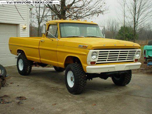 1968 Ford F250 4x4 1968 Ford F 250 4x4 Ford Trucks Classic Ford Trucks Trucks