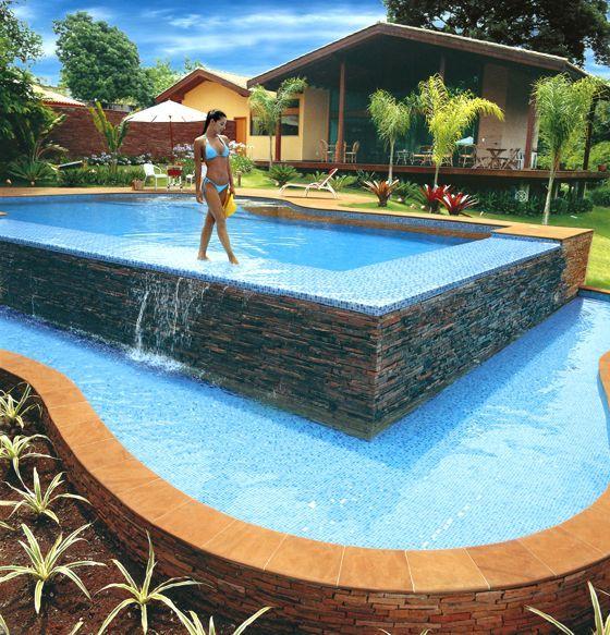 modelo de casa con piscina peque a buscar con google