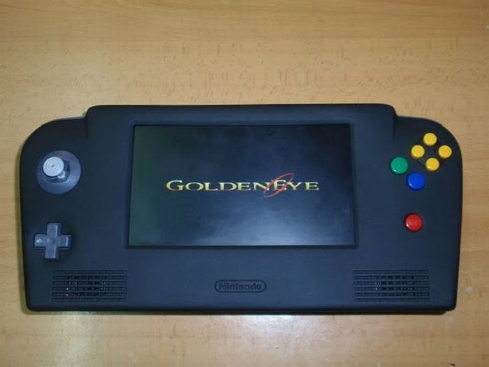 Geekdom Come - TRANSFORMING A NINTENDO 64 INTO A HANDHELD CONSOLE - the whole process in pictures