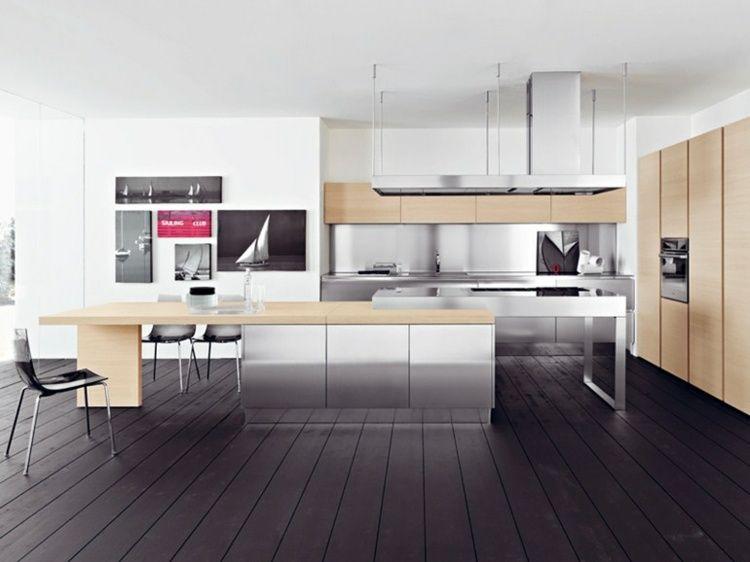 cuisine avec ilot central design