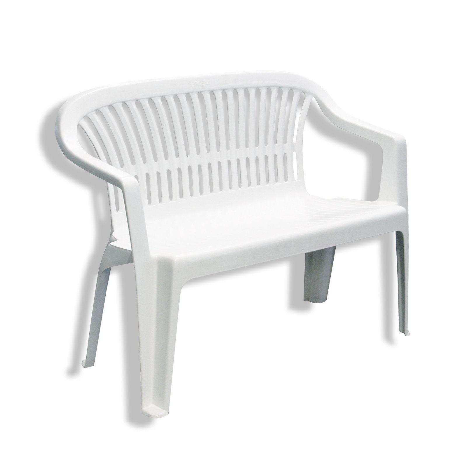 Gartenbank Kunststoff Weiß | Kunststoff Gartenbank | Pinterest