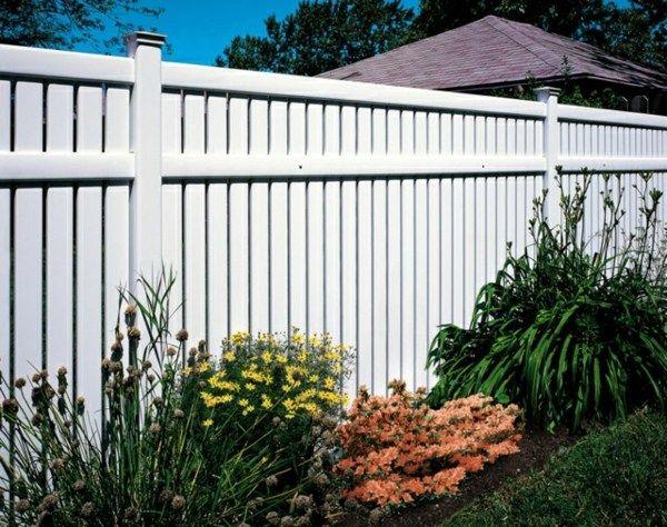 Choisir une clôture de jardin appropriée à votre propriété Gates - palissade en pvc jardin