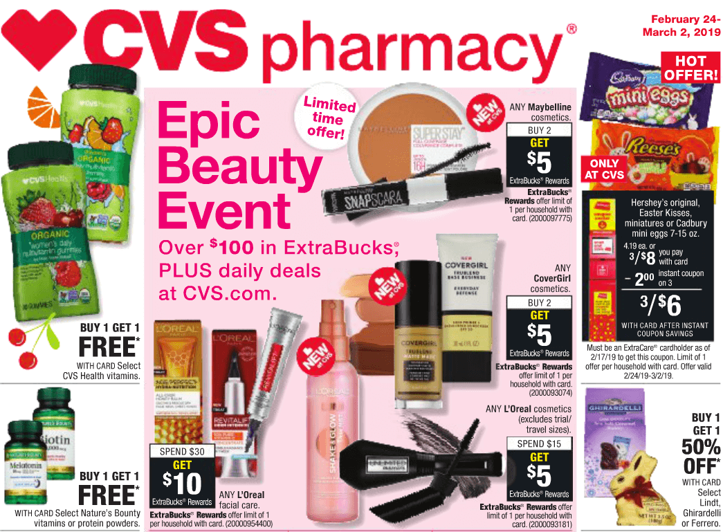 Insider Preview of the Best Deals at CVS starting 2/24