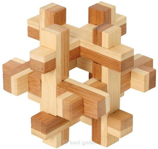 Bartl, Bambus-Puzzle Quaderus, | 101072