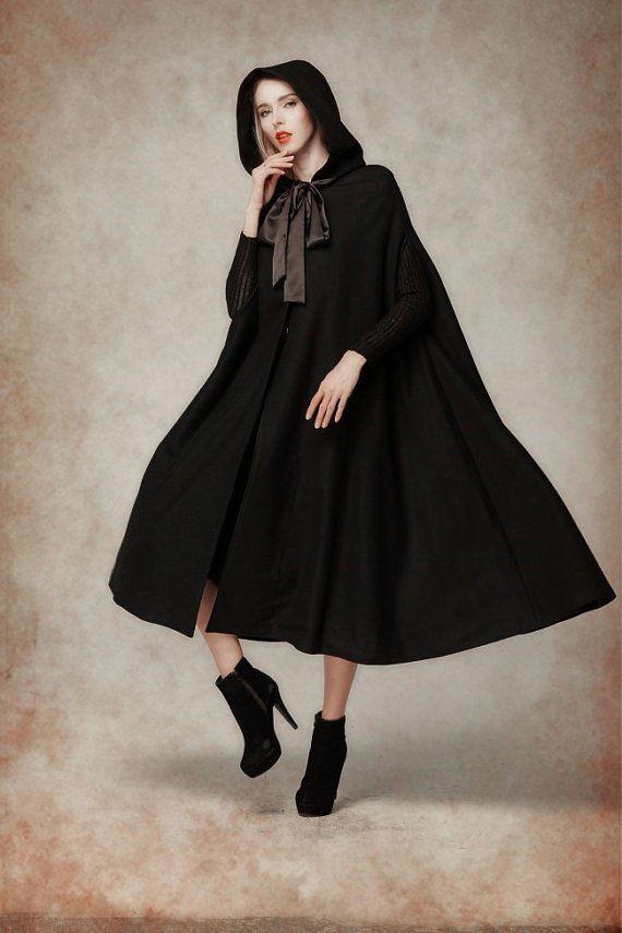 negra estilo caperucita imagen Fotografía Resultado capa de de qaYIYz