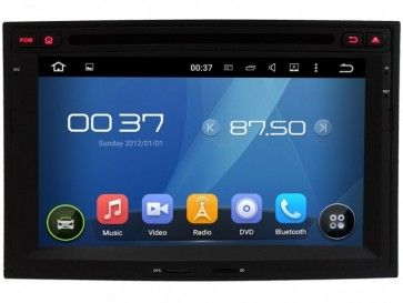 autoradio gps dvd citro n berlingo s160 android 5 1 1 avec hd ecran tactile support smartphone. Black Bedroom Furniture Sets. Home Design Ideas