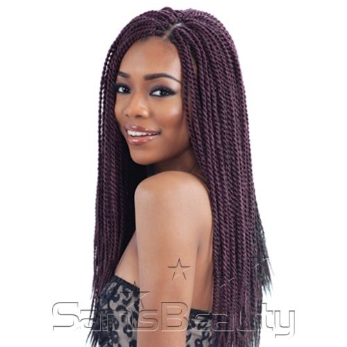 FreeTress Synthetic Hair Crochet Braids Senegalese Twist Small ...""