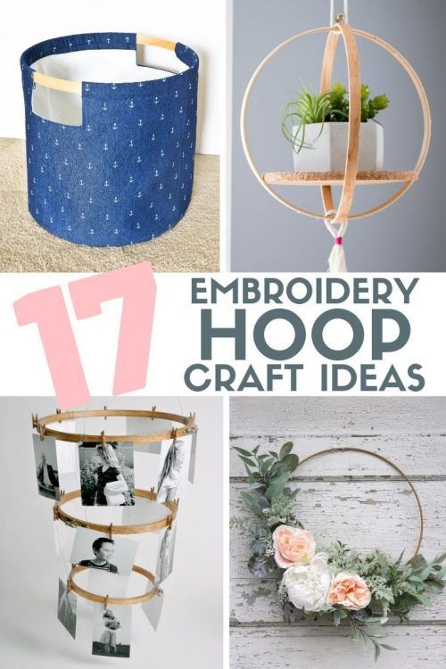 Photo of Top 17 DIY Embroidery Hoop Craft Ideas | The Crafty Blog Stalker