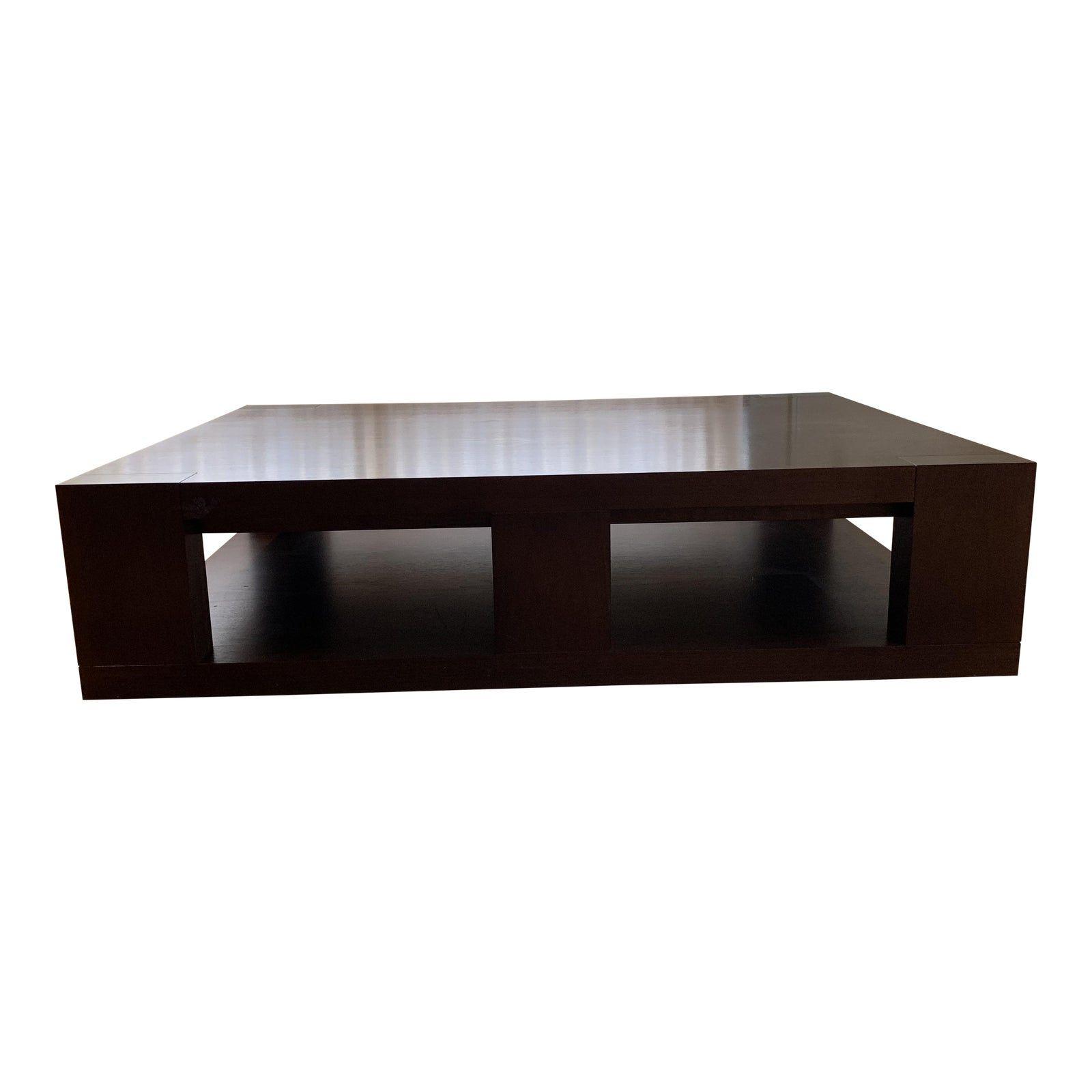 Christian Liaigre Contemporary Walnut Coffee Table Chairish Coffee Table Walnut Coffee Table Table [ 1600 x 1600 Pixel ]