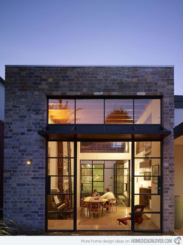 The industrial aesthetics of smee schoff house in Australian loft house plans