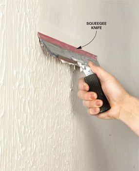 How To Skim Coat Walls Diy Home Repair Home Improvement Diy Home Improvement