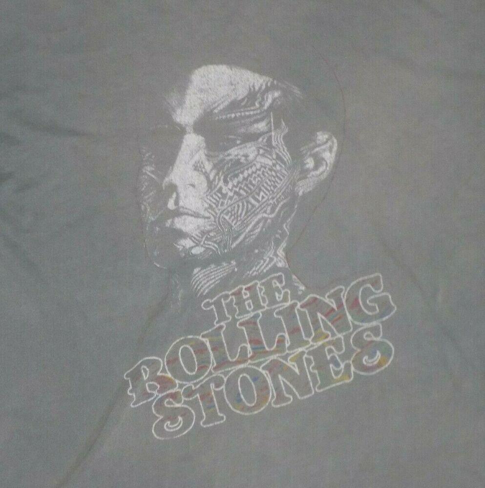 rolling stones xl tattoo thin shirts trunk distressed ltd stone