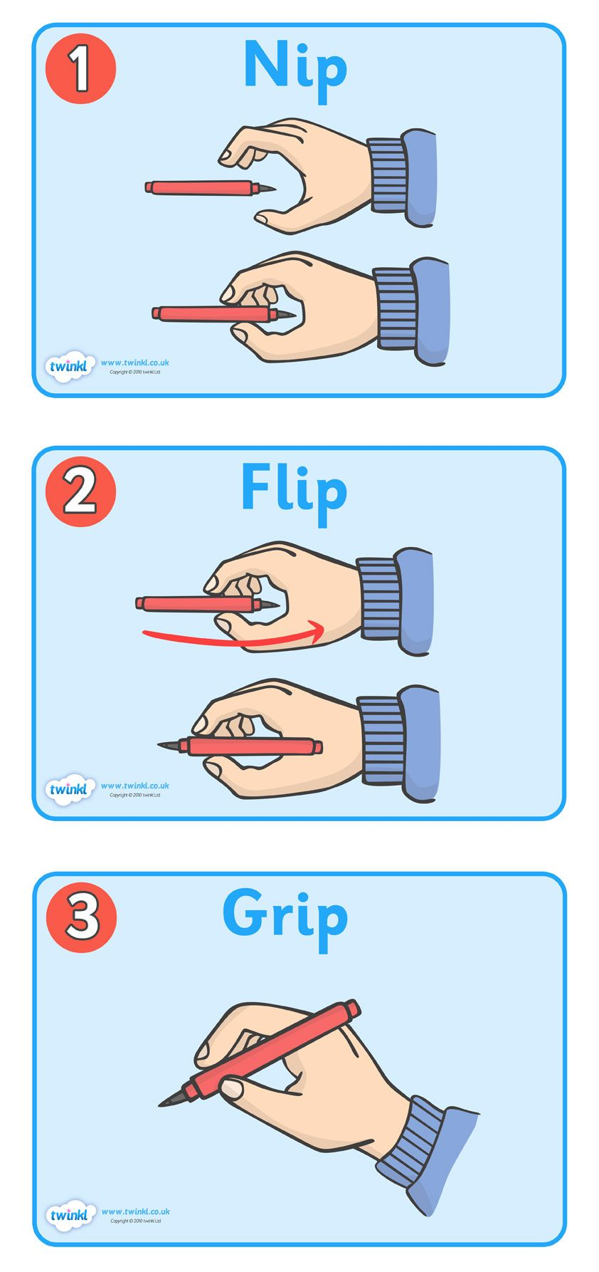 Image result for nip flip and grip