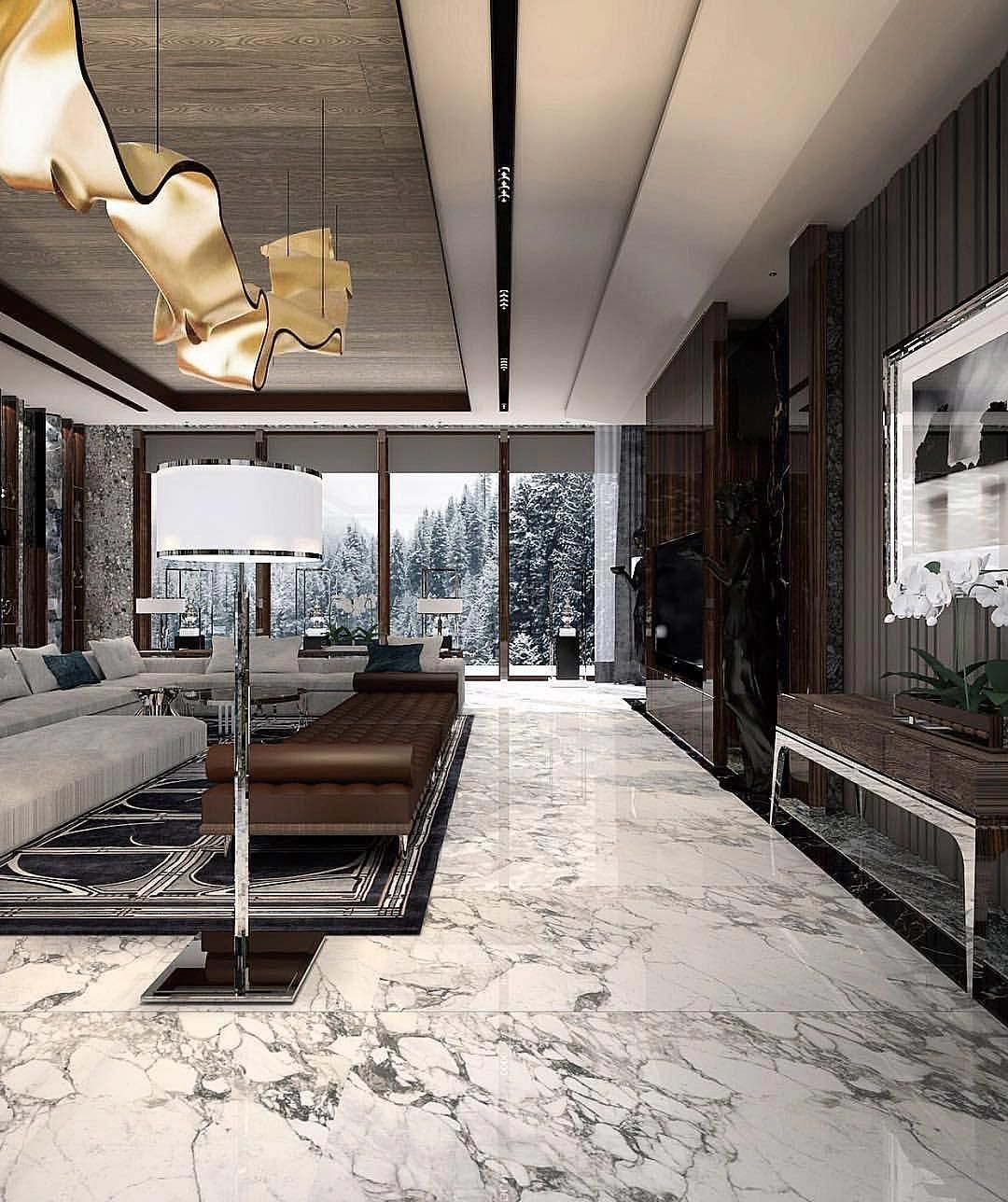 La imagen puede contener tabla e interior   Maison design, Idée ...