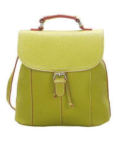 Another great find on #zulily! Green Anita Crossbody Bag by Mellow World #zulilyfinds