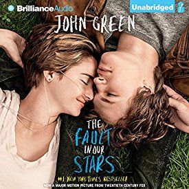 "Another must-listen from my #AudibleApp: ""The Fault in Our Stars"" by John Green, narrated by Kate Rudd."