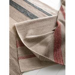 Photo of Benuta Wollteppich Phrena rot 160×230 cm – Naturfaserteppich aus Wolle Benuta