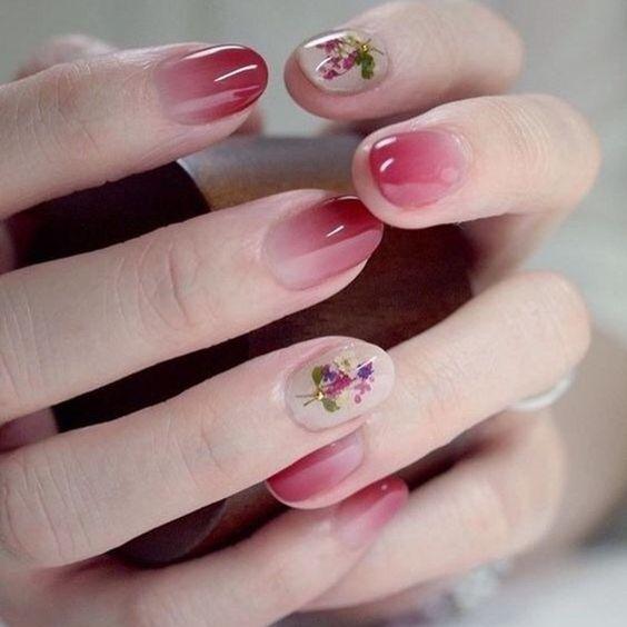 36 Short Acrylic Natural Shapes Round Nails Designs And Summer Colors Nail  | Rounded acrylic nails, Short nails and Acrylics - 36 Short Acrylic Natural Shapes Round Nails Designs And Summer