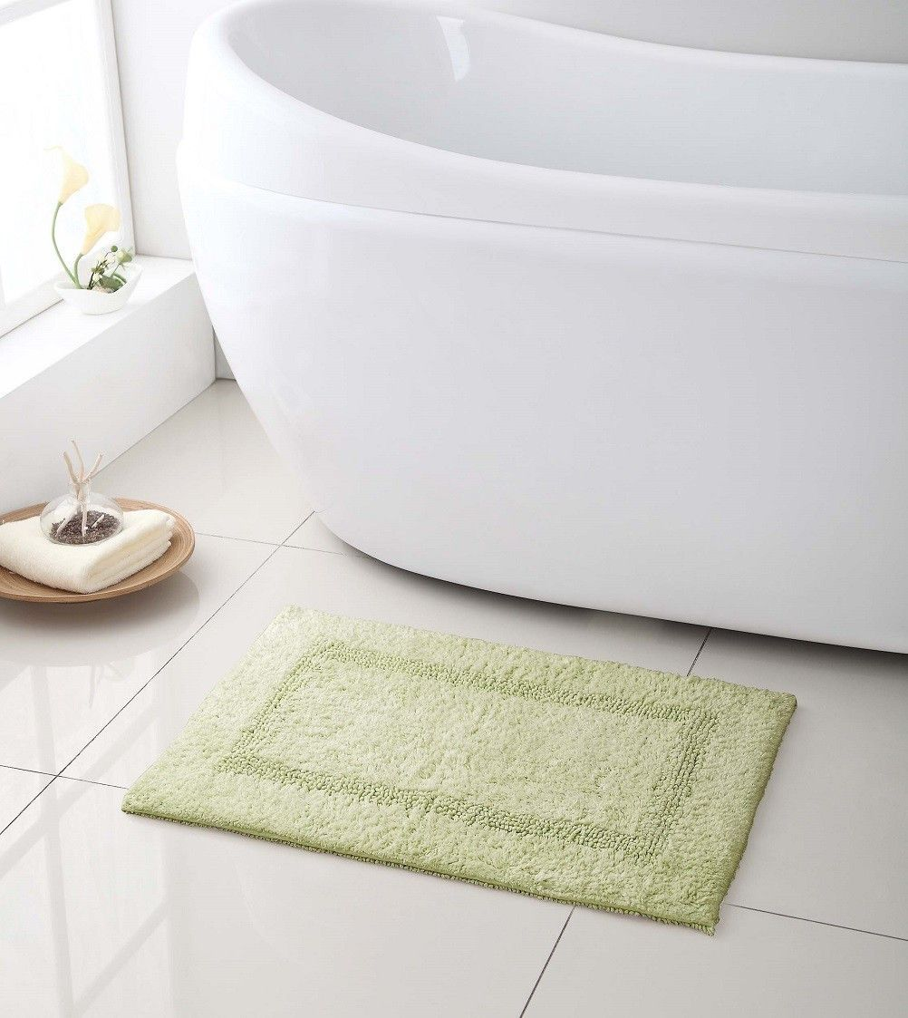 High Quality 100 Cotton Reversible Bath Mat/ Rug 17