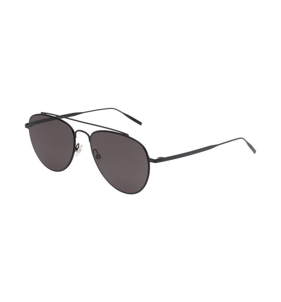 293583dc1cf tm8 black and grey teardrop aviator sunglasses  myTMshades  tomasmaier  Tomas Maier Design