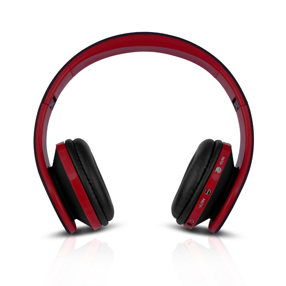 ce3441130b5 FX-Victoria Bluetooth Headset Over Ear Headphone With Built in Microphone,  Compatible with iPods, iPhones, iPads, Samsung/Android/Blackberry  Smartphones, ...