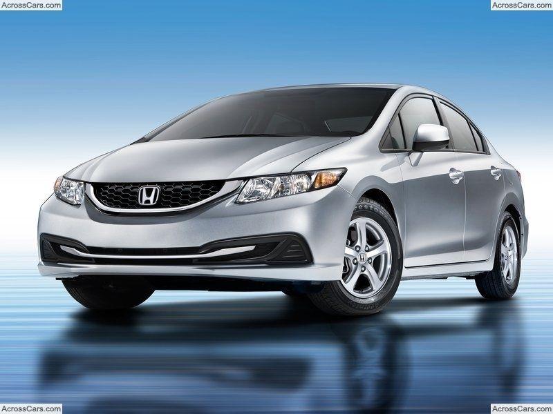 Honda Civic Natural Gas 2013 2013 Honda Civic Sedan Civic Car Honda Cars