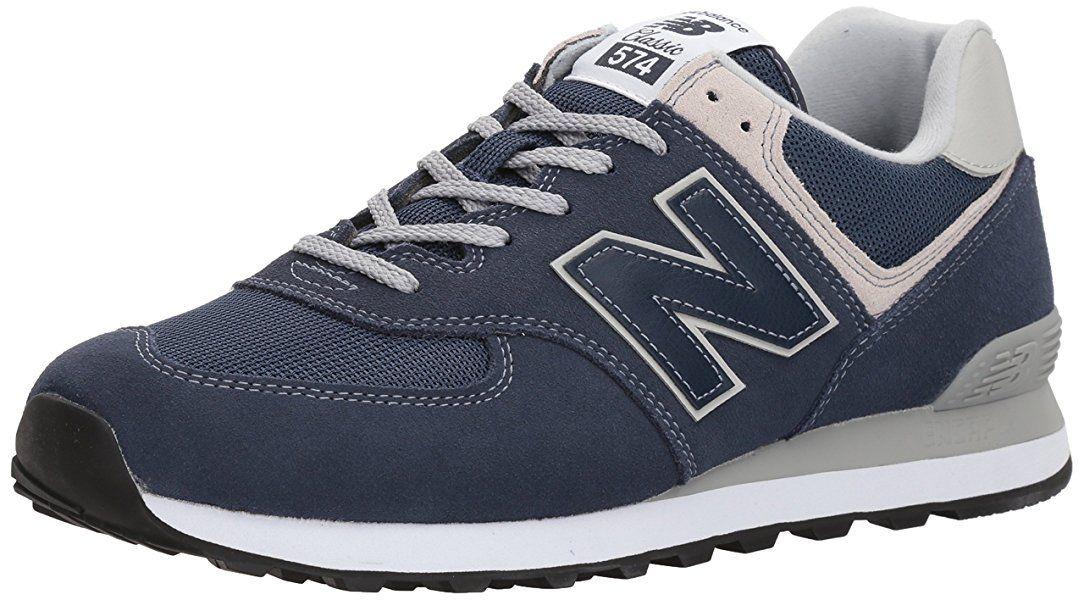 New Balance Herren Ml574E Sneaker, Blau (blue/ML574EGN), 45.5 EU: