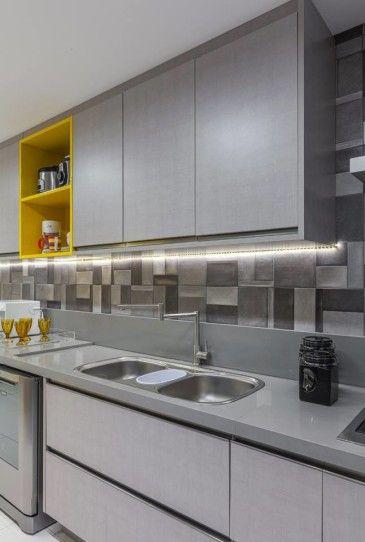 Cozinha Com Imagens Decoracao Cozinha Moderna Bancadas De