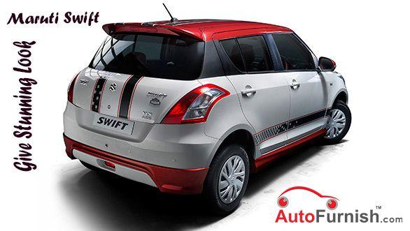 Give Stunning Look to Your Maruti Swift. #Autofurnish #Car ...