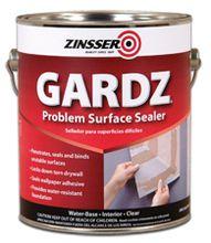 Zinsser Gardz Problem Surface Sealer 1 Gallon Wall Sealer Drywall Repair Painting Over Wallpaper