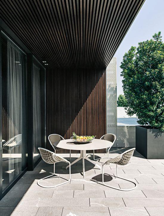 Wooden cover balcony Home inspirations! Pinterest Indoor