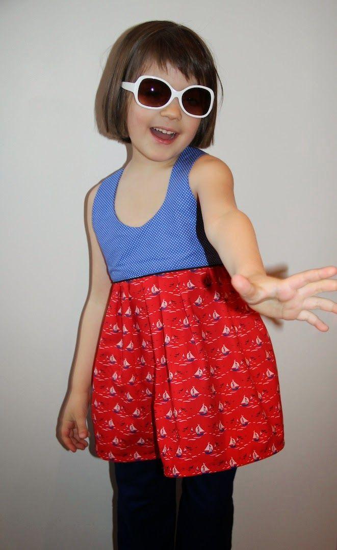 Little miss Sunday (Vanessa Pouzet) en coton Fifi Mandirac pour ...