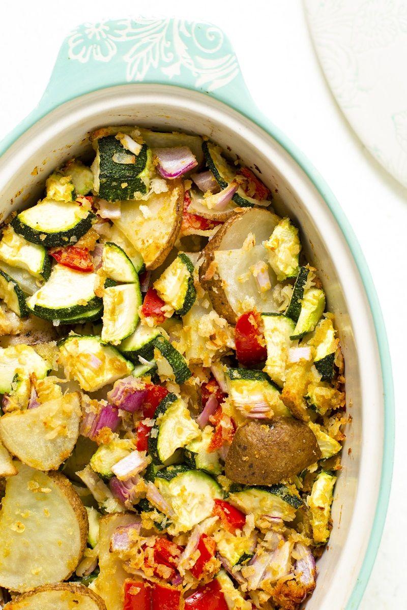 Vegan Zucchini Potato Casserole Recipe Plant Based On A Budget Recipe Potatoe Casserole Recipes Vegan Zucchini Casserole Recipes