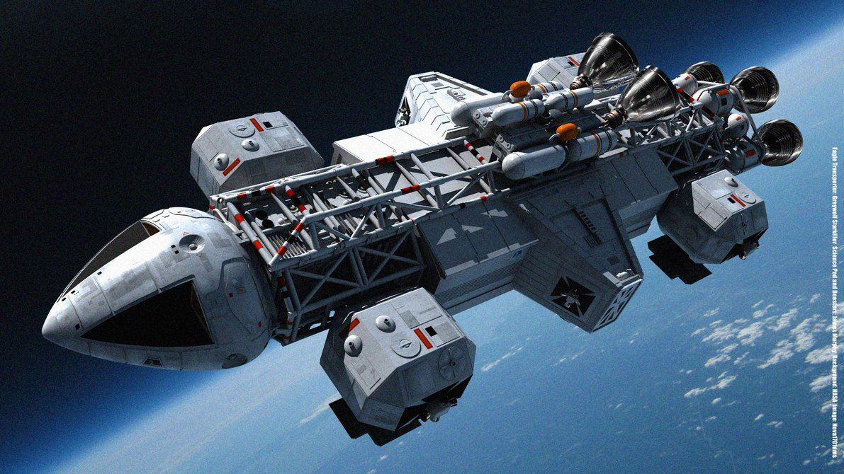 Pin By Ftltech On Adastra Space 1999 Ships Space 1999 Tv Series