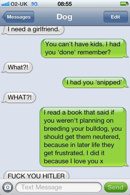 Texts From Your Dog