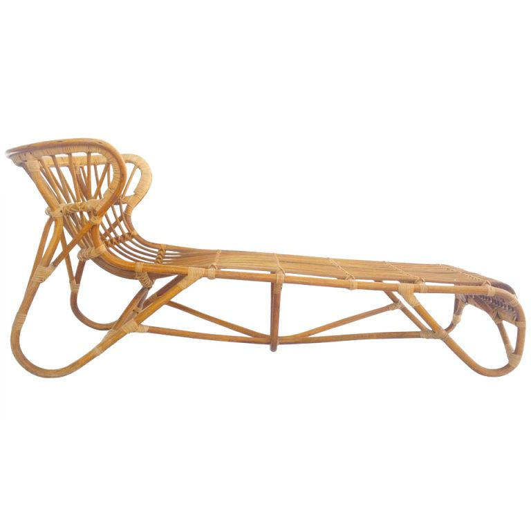 1stdibs - Rare Franco Albini Chaise Lounge explore items from 1700 global dealers at 1stdibs.  sc 1 st  Pinterest : bamboo chaise lounge - Sectionals, Sofas & Couches