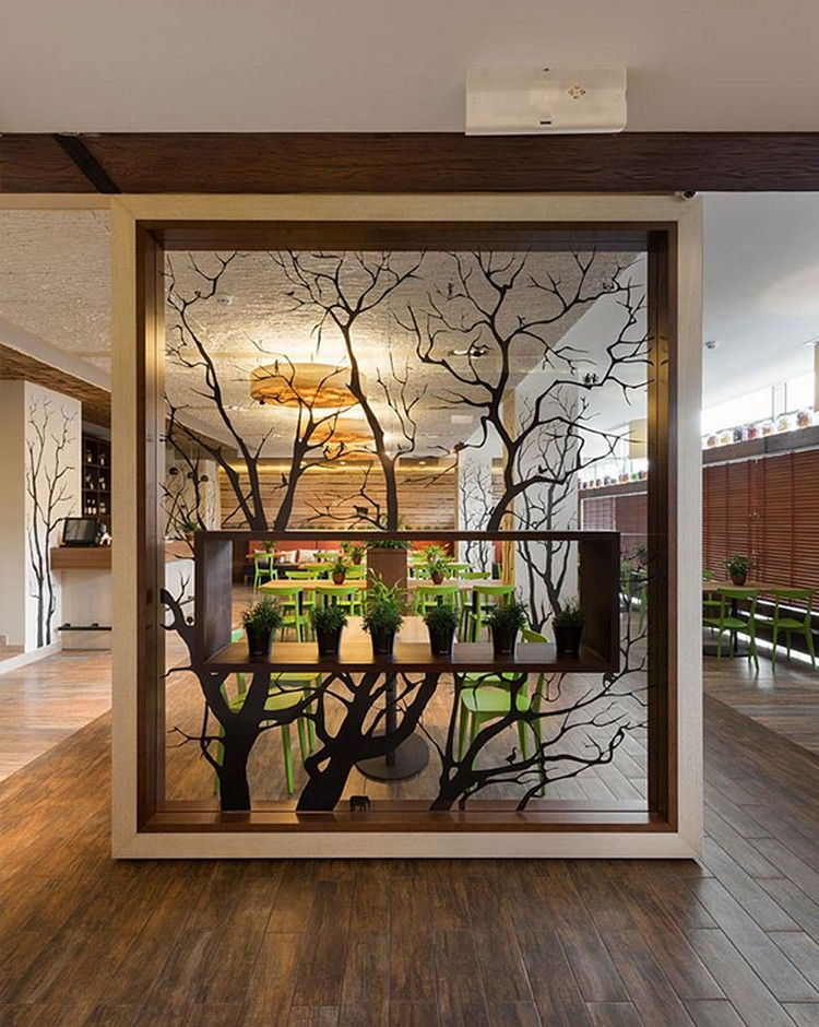 Contemporary room dividers that will add style to your home partition screen ideas also pin by raman suri on house in foyer design wall rh pinterest