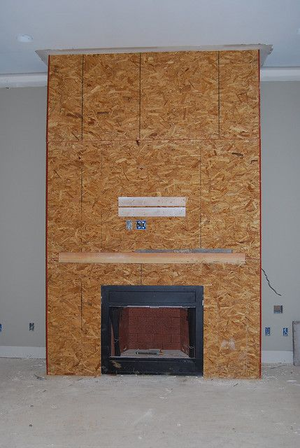 Stacked Stone Fireplace | Fireplace prepped for Stack Stone | Flickr - Photo Sharing!