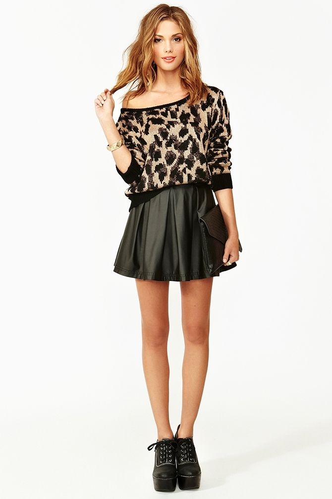 Queens Leopard Knit -   $98.00