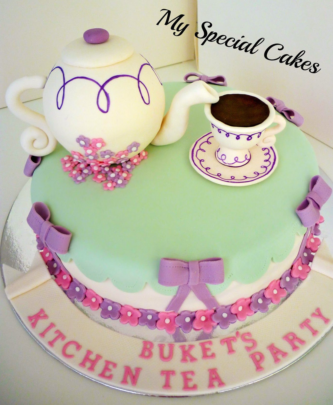 Kitchen Tea Cake My Beautiful Kitchen Tea Cake 3 My Kitchen Tea Pinterest
